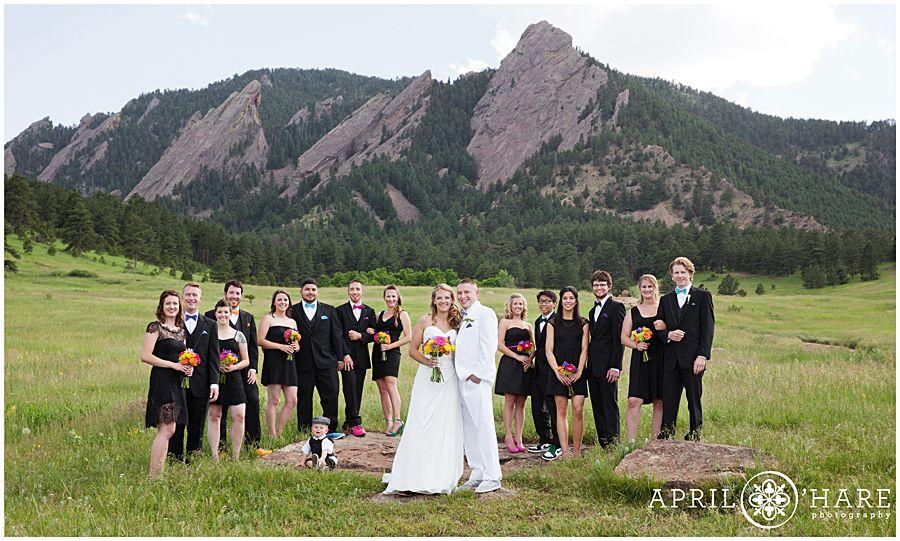 Weddings On The Chautauqua Lawn Boulder