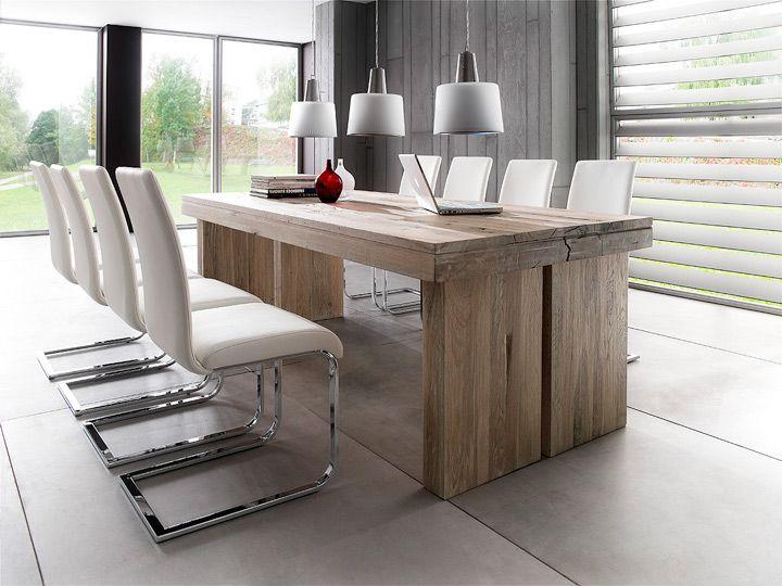 Esstisch Eiche Gekalkt mca furniture dublin esstisch eiche massiv 180x90 wildeiche massiv