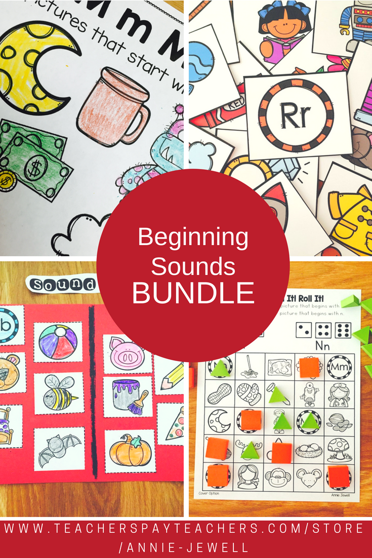 Beginning Sounds BUNDLE | Pinterest