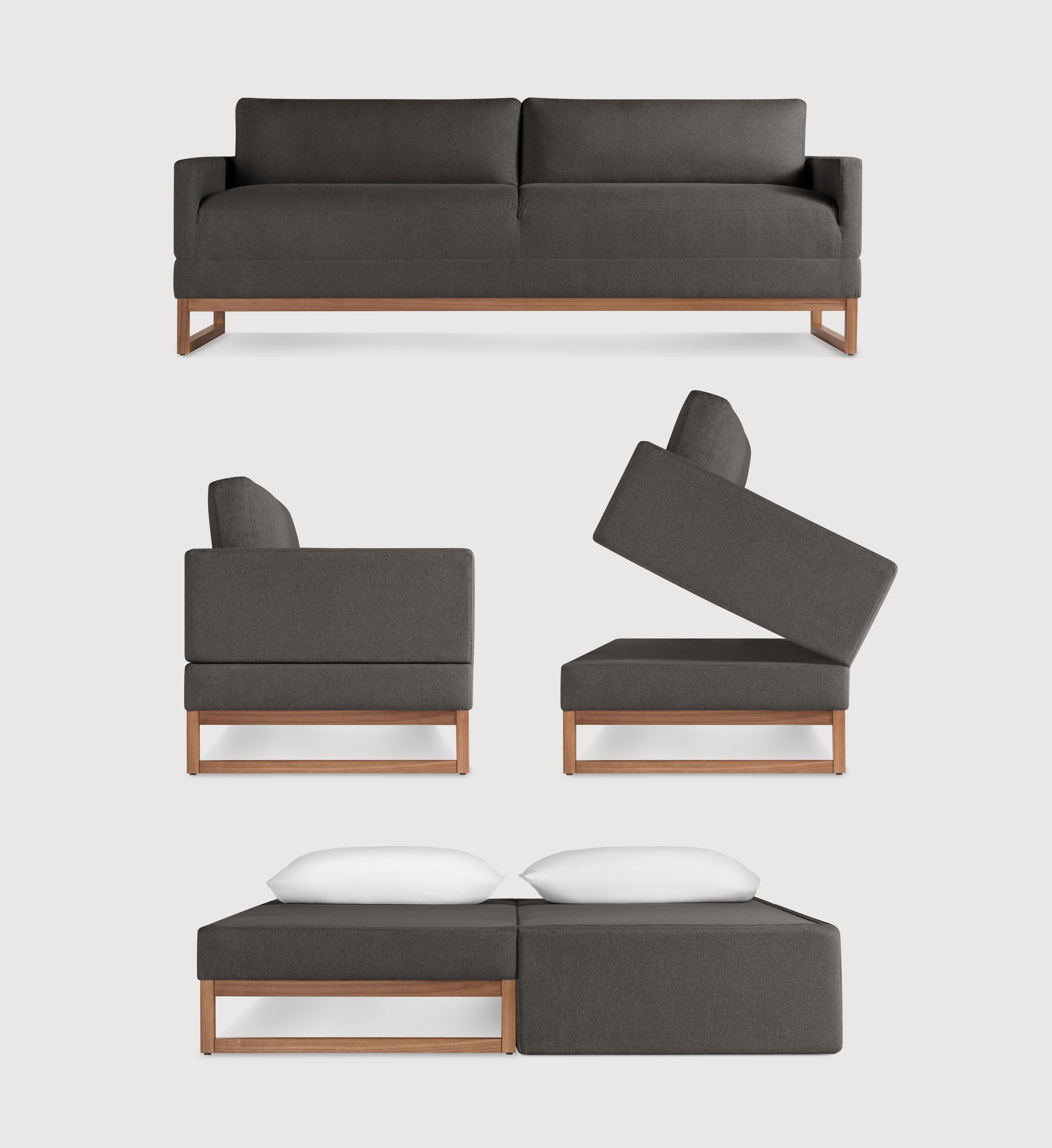 Wondrous The Diplomat Sleeper Sofa Packwood Charcoal Office Ocoug Best Dining Table And Chair Ideas Images Ocougorg