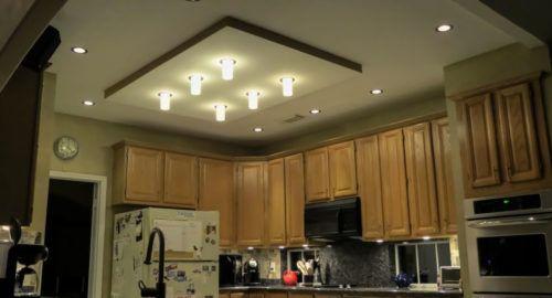 Overhead Kitchen Light Kitchen Lighting Ideas Pinterest