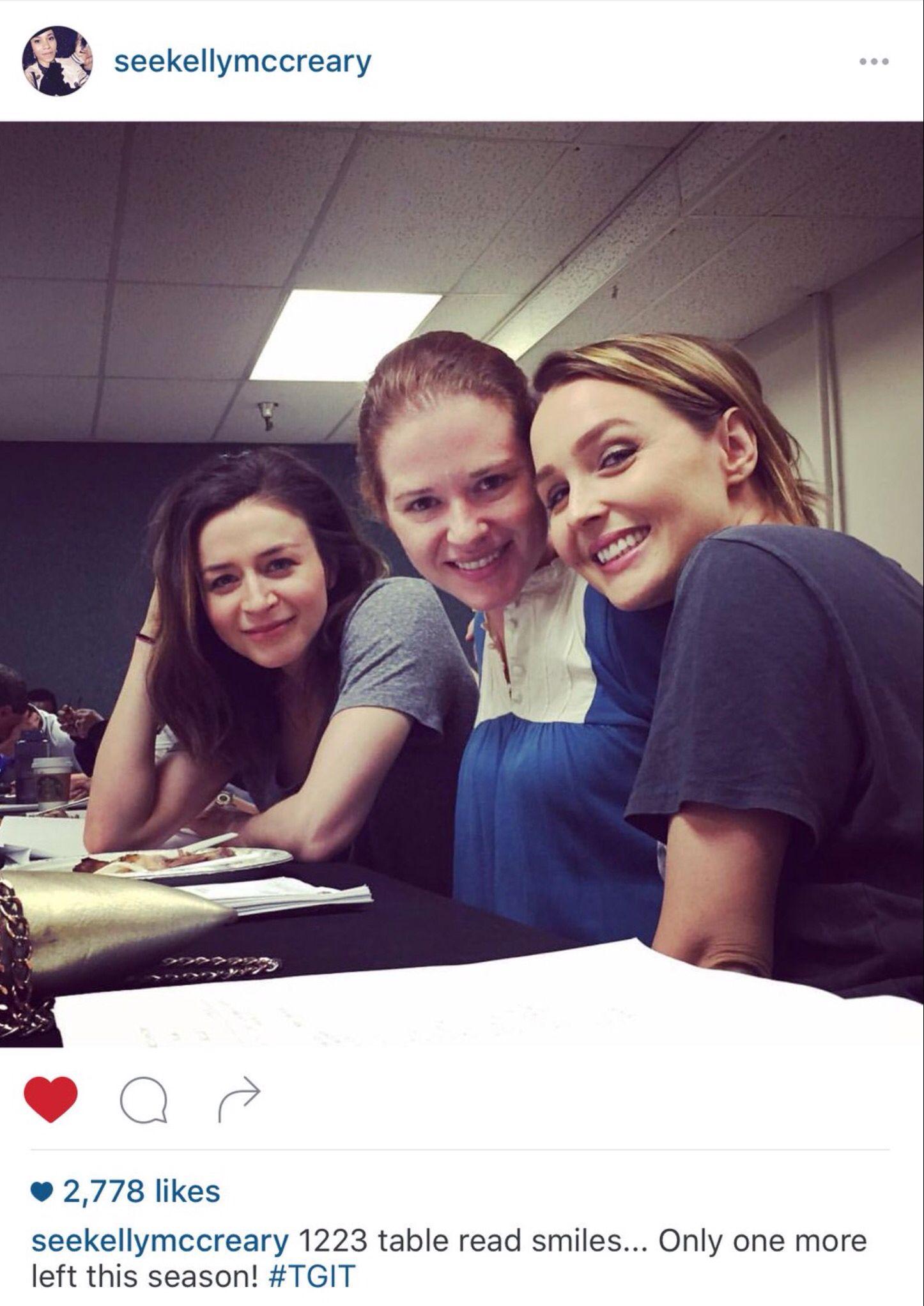 Caterina, Sarah n Camilla | Camilla Luddington and Sarah Drew on Set ...