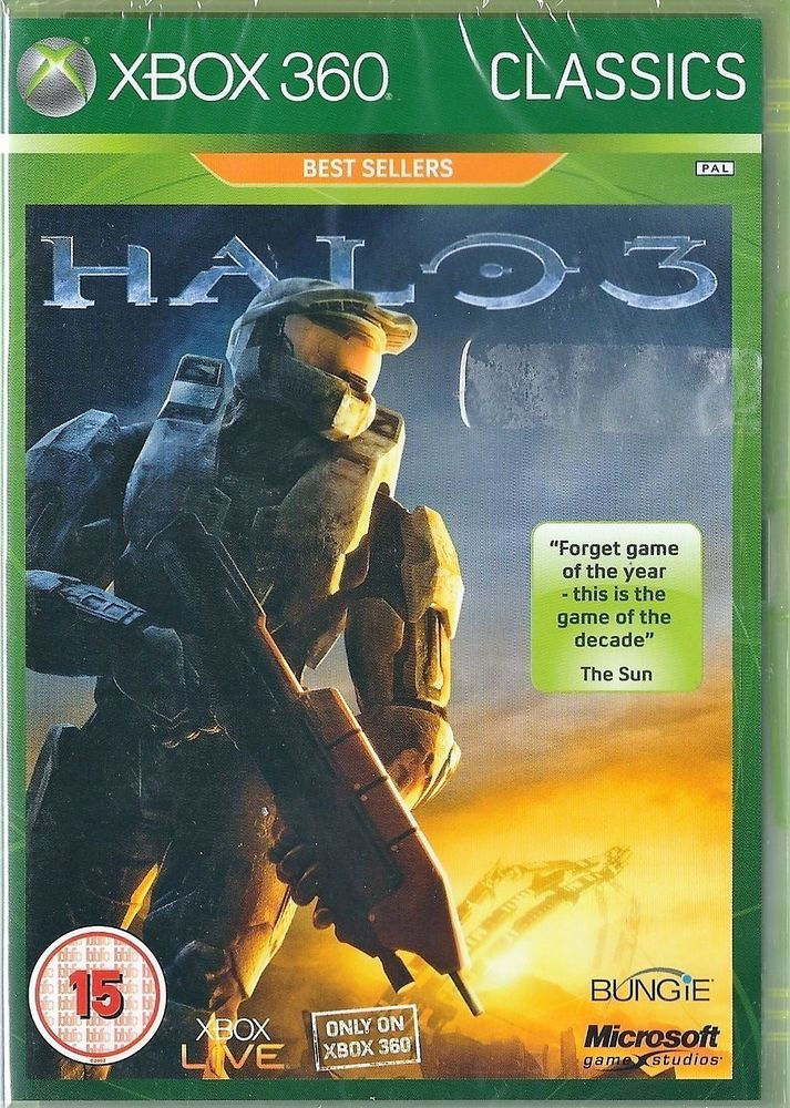Details About Halo 3 Xbox One Compatible Brand New Xbox Xbox