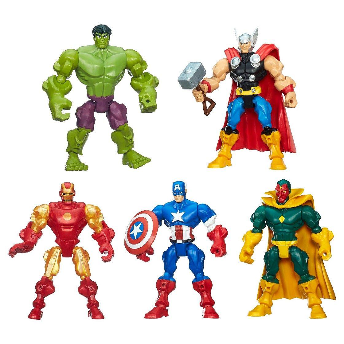 Walmart Toys For Boys Avengers : Marvel super hero mashers avengers mash pack boys