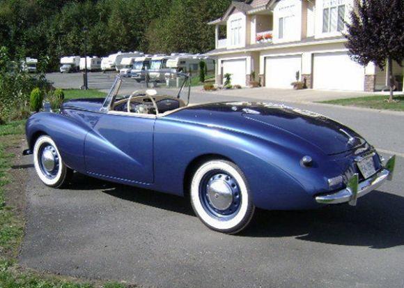 1953 Sunbeam Alpine Mk1 1955 Movie To Catch A Thief Driven By Francie Grace Kelly