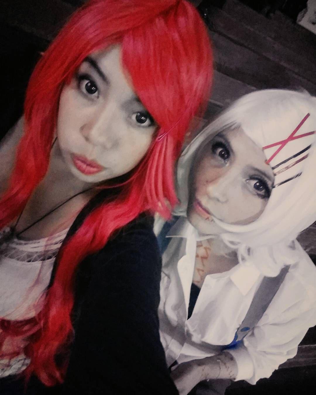 Fujoshi fest Junto a Juzo Hanna adore tu crosplay  #ariel #tokyoghoul #juzo #juzosuzuya  #cosplayers #cosplay #crosslay# #kaneki #cute #selfie #animecosplay #animegirl