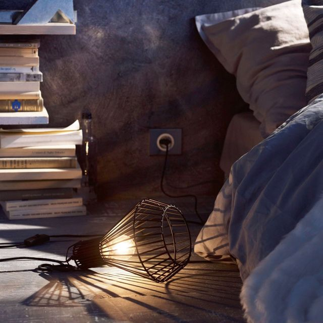lampe baladeuse sinope h 27 5 40 w noir. Black Bedroom Furniture Sets. Home Design Ideas