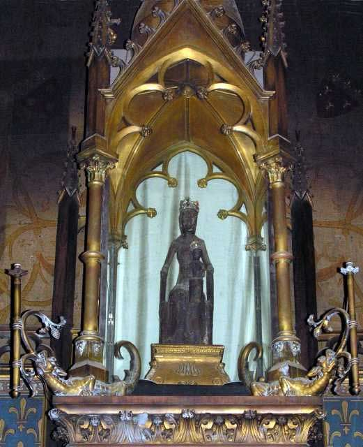 Church Of The Black Madonna Our Lady Of Rocamadour Black Madonna In France Madonna
