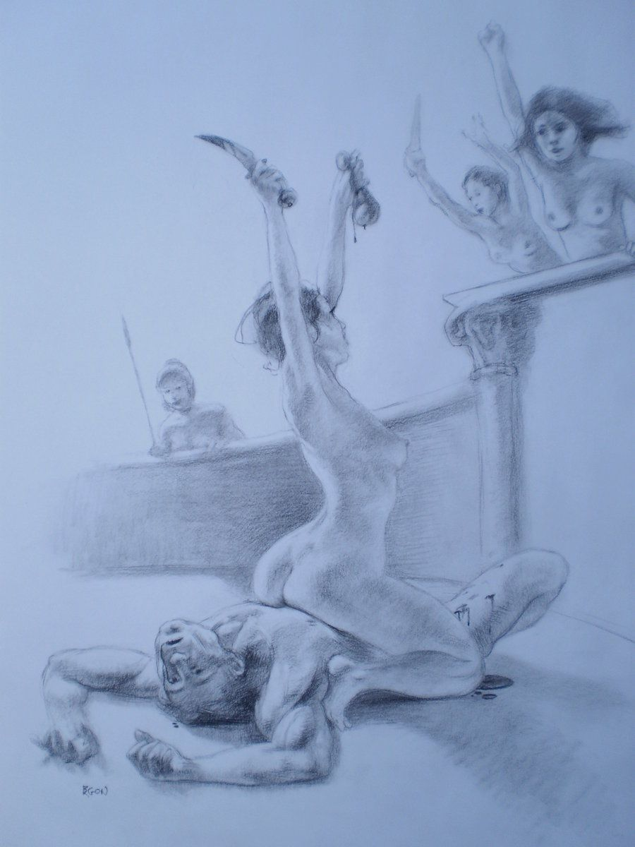 Femdom castration art cartoons