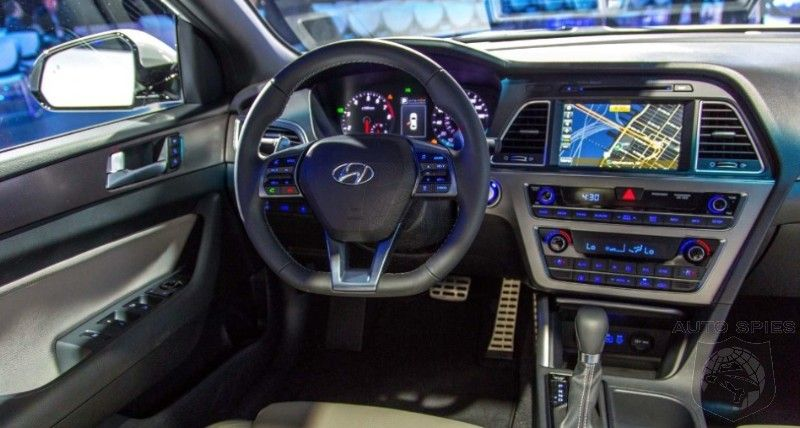 NEW YORK AUTO SHOW: I SPY The 2015 Hyundai Sonatau0027s INTERIOR U2014 Can .