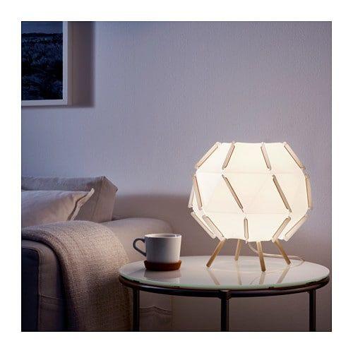 Лампа настольная is part of Ikea Living Room Table -  мягкое уютное освещение для настроения
