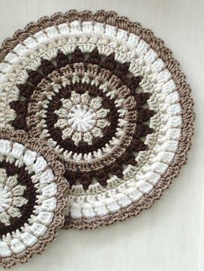 pin von maria ines auf mandalas pinterest h keln stricken und mandalas h keln. Black Bedroom Furniture Sets. Home Design Ideas