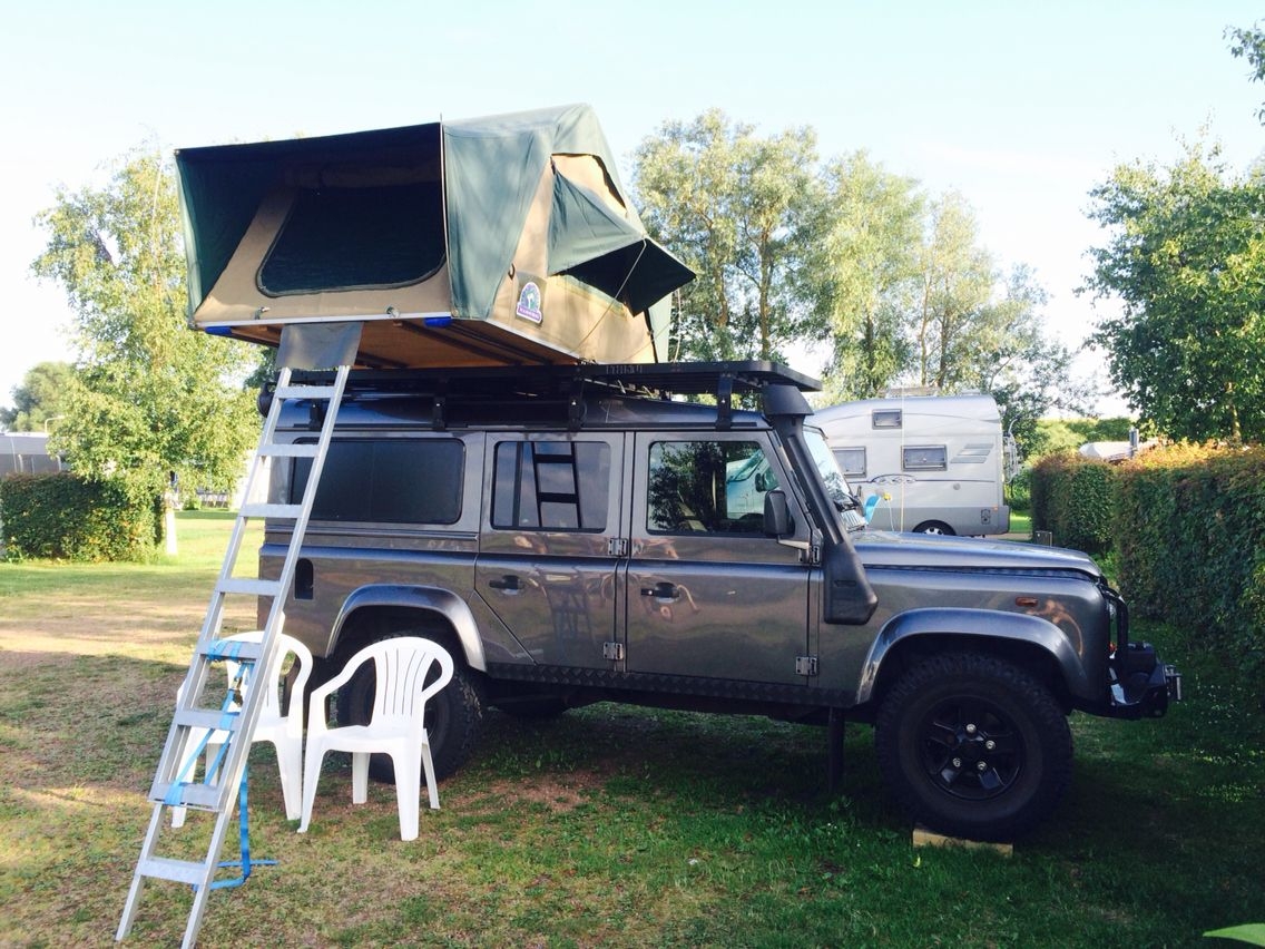 Camping Netherlands 110 With Hannibal Rooftent Land Rover Land Rover Defender 110 Defender 110