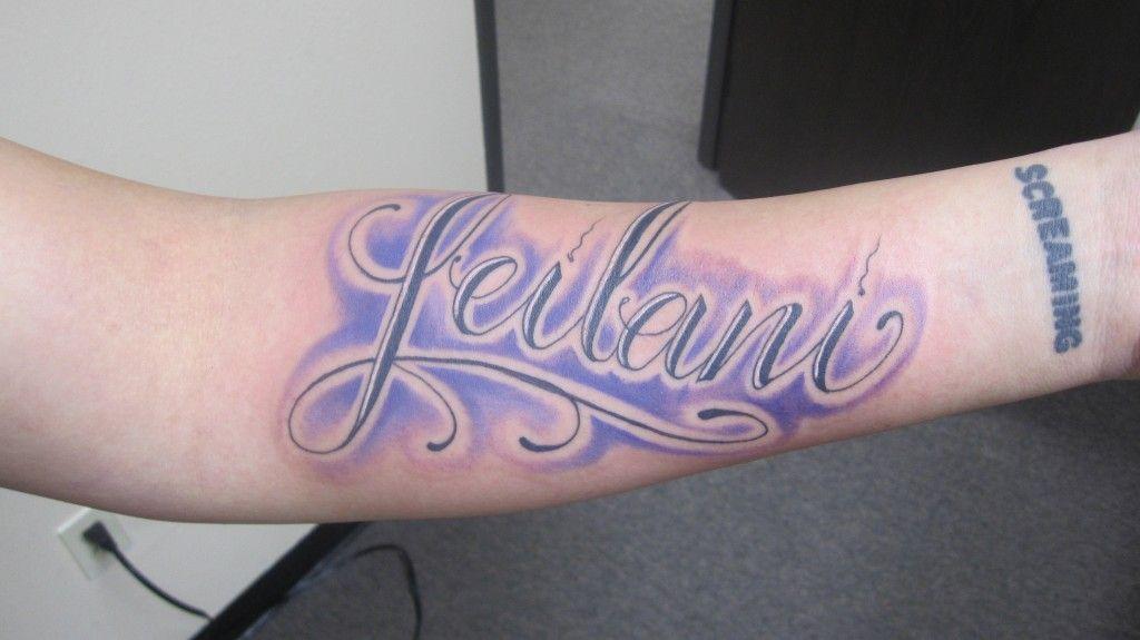 Latino Blue Design Name Tattoo On Forearm Name Tattoos Forearm Name Tattoos Tattoo Designs