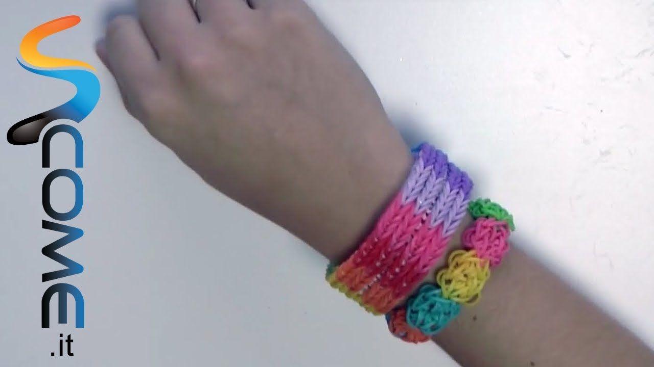 Tutorial Braccialetti Elastici Fishtail Con Rainbow Loom