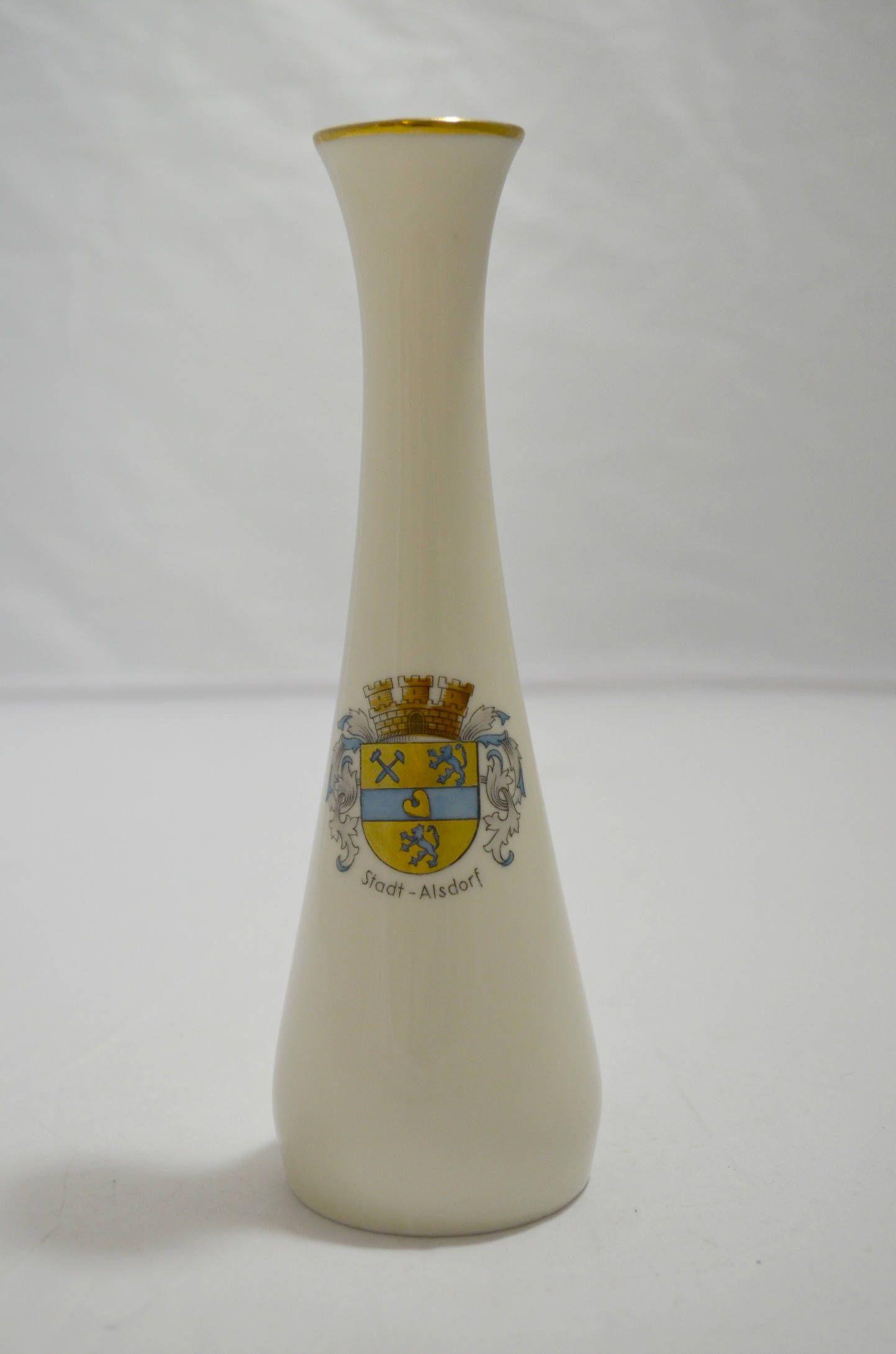 Stadt Alsdorf Bud Vase By Gerold Porzellan Bavaria Bud Vases Vase Fine Porcelain