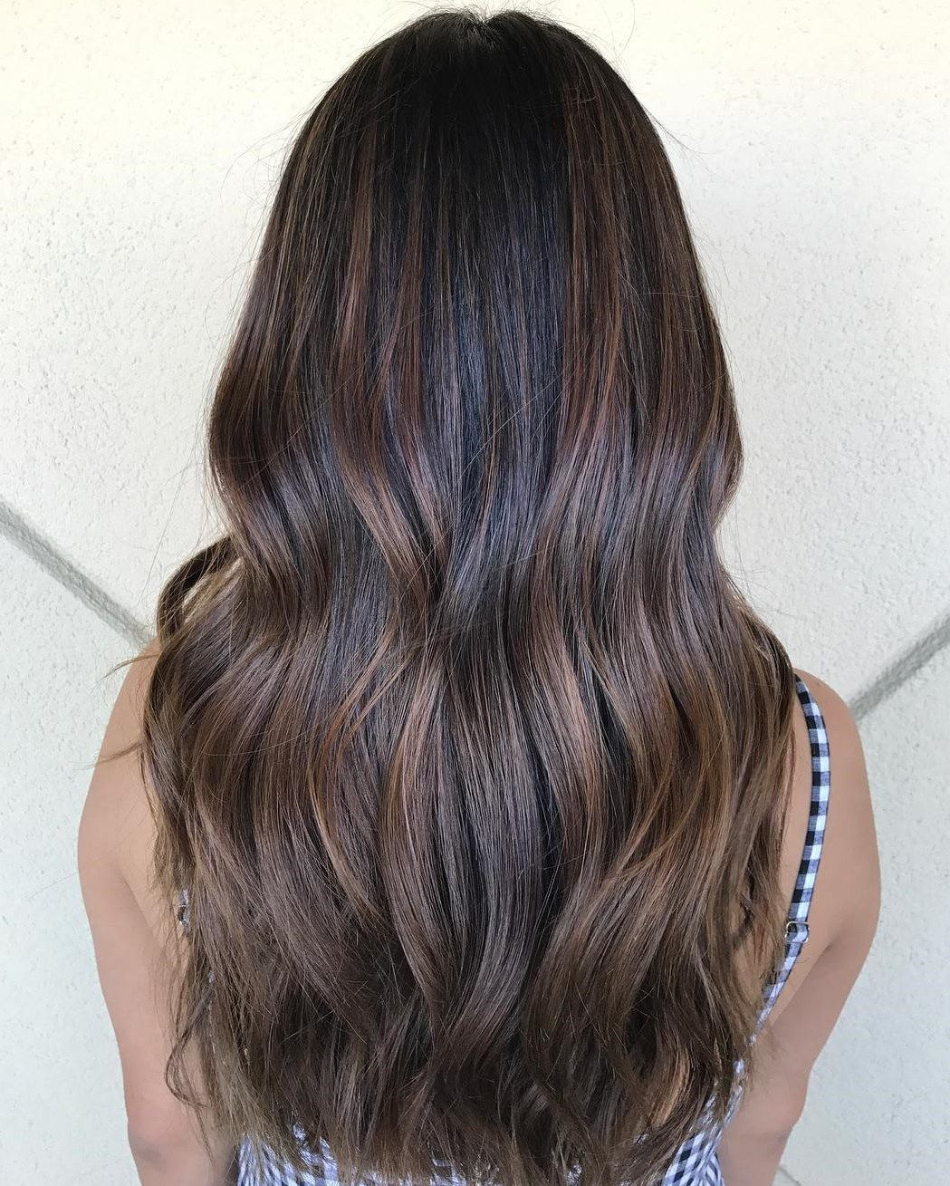 60 Chocolate Brown Hair Color Ideas For Brunettes Balayage Straight Hair Hair Inspo Color Dyed Natural Hair