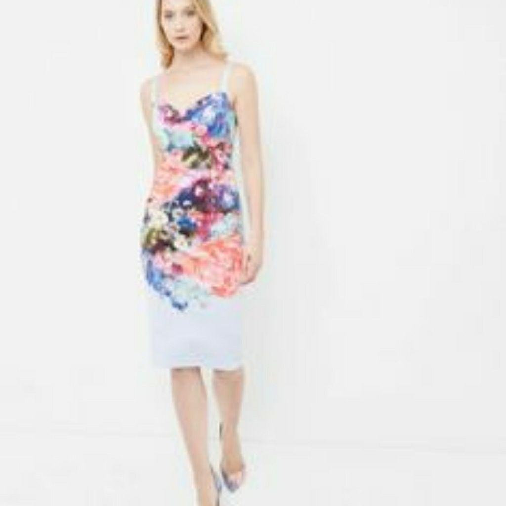 Ted Baker Floral Dress Floral Dresses Uk Dresses Casual Dresses