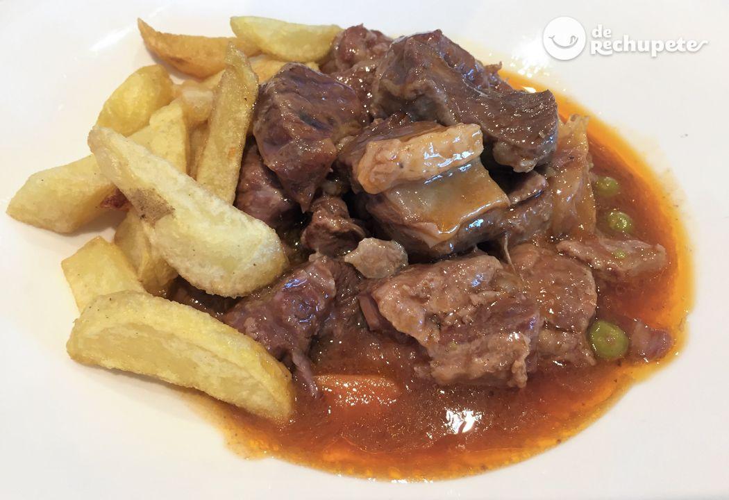 Guiso De Carne Casero Recetas De Rechupete Recetas De Cocina Caseras Y Fáciles Recipe Food Beef Recipes Food And Drink