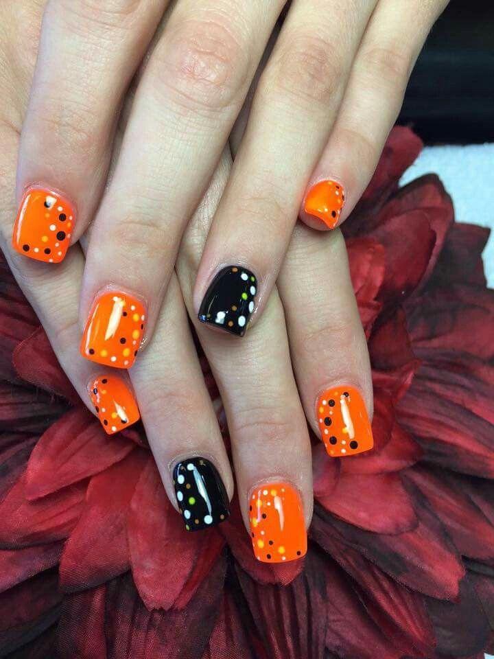 Halloween nails | Nails, Toe nails, Halloween nails