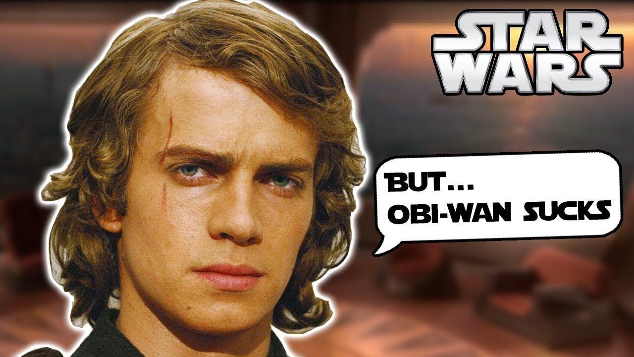 What Anakin Said In The Original Script About Obi Wan To The Jedi Council Star Wars Humor Obi Wan Star Wars