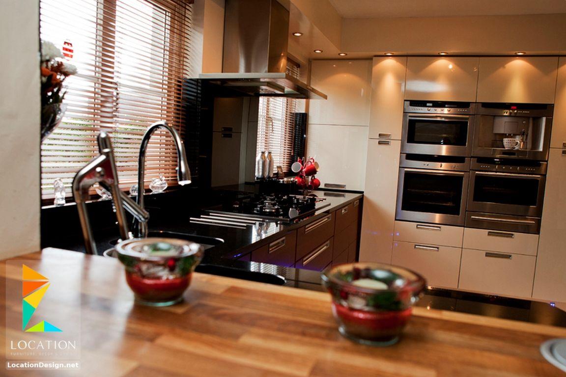 افضل انواع المطابخ بالصور لوكشين ديزين نت Kitchen Gloss Kitchen Kitchen Cabinets