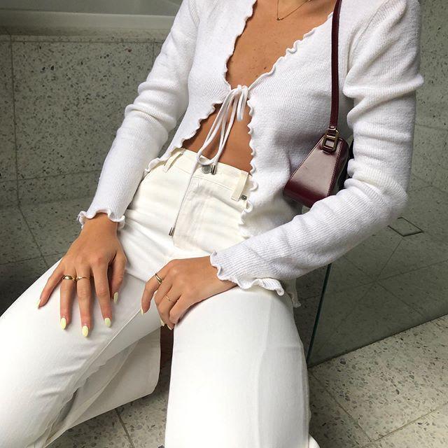 """Photo of THE DROBE MELBOURNE på Instagram: """"SHOP: Knit Tie Top 👼👼 Size S / M"""""""
