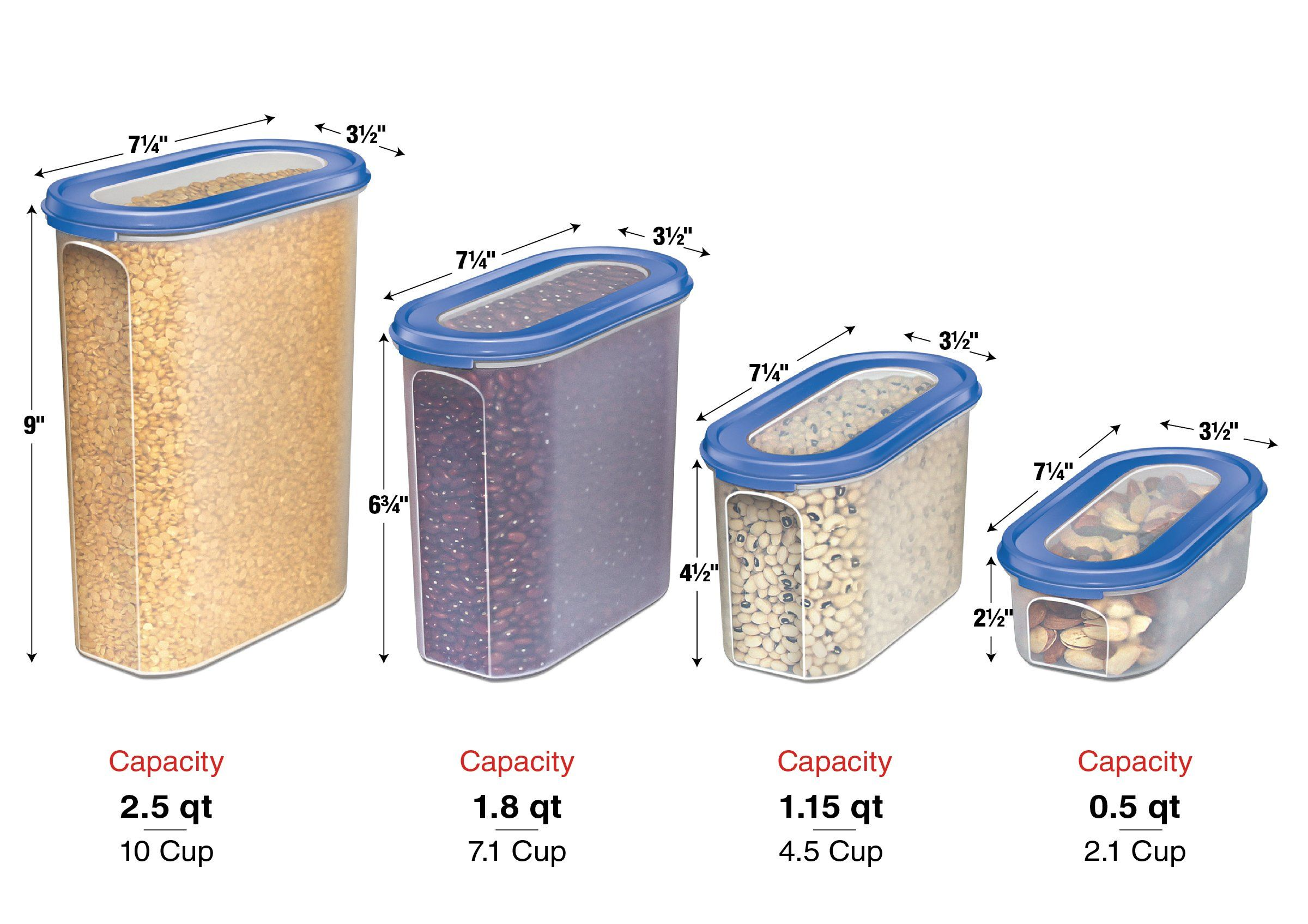 Food Storage Containers Set Stacko 20 Pc Set Airtight Dry Food Container With Lids Bonus 2 Dry Food Storage Food Storage Container Set Airtight Food Storage