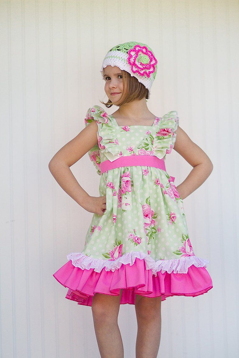 Evelyn Green - Kinder Kouture Boutique Clothing - 1 | Kinderkleider ...