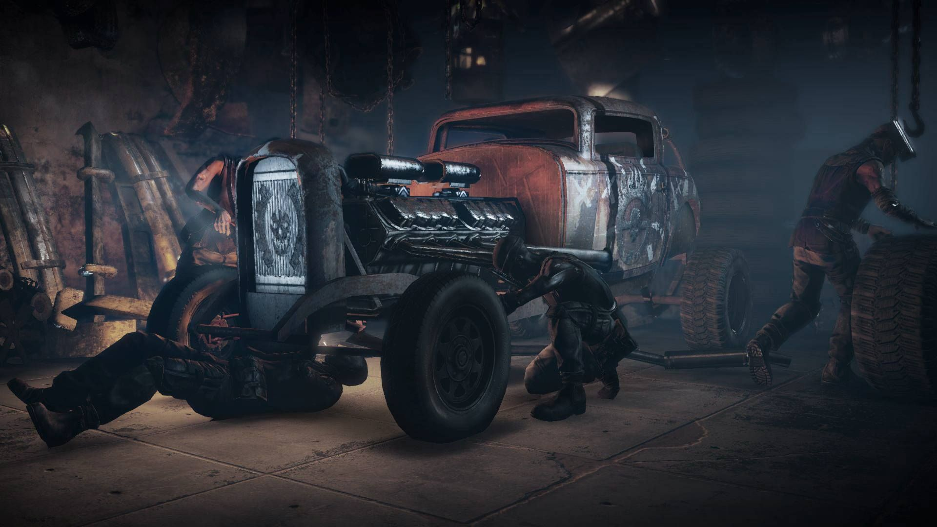 Mad Max Game Concept Art