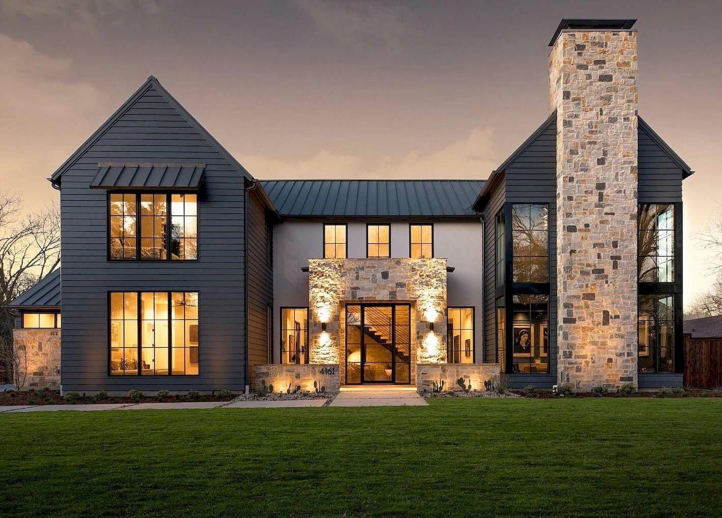 85 rustic farmhouse exterior design ideas decoradeas