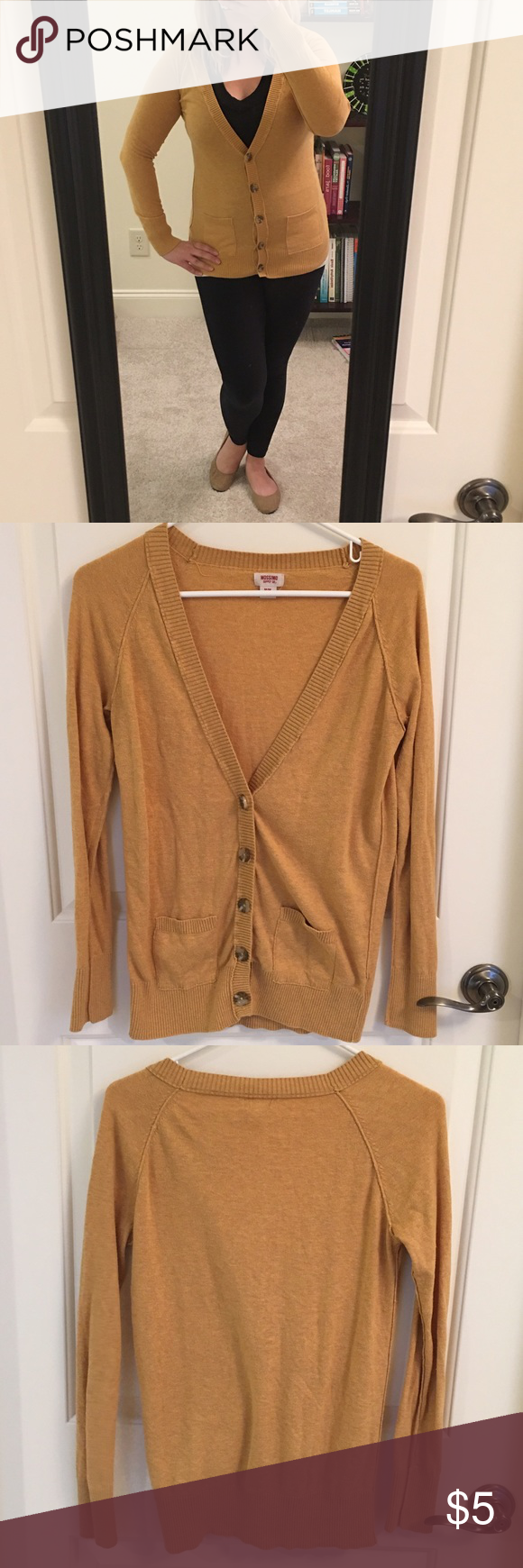 Yellow Boyfriend Cardigan | Sweater cardigan, Boyfriend cardigan ...