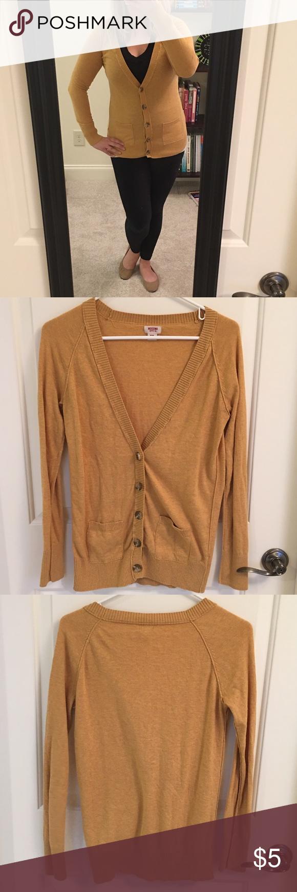 Yellow Boyfriend Cardigan | Sweater cardigan, Boyfriend cardigan ...