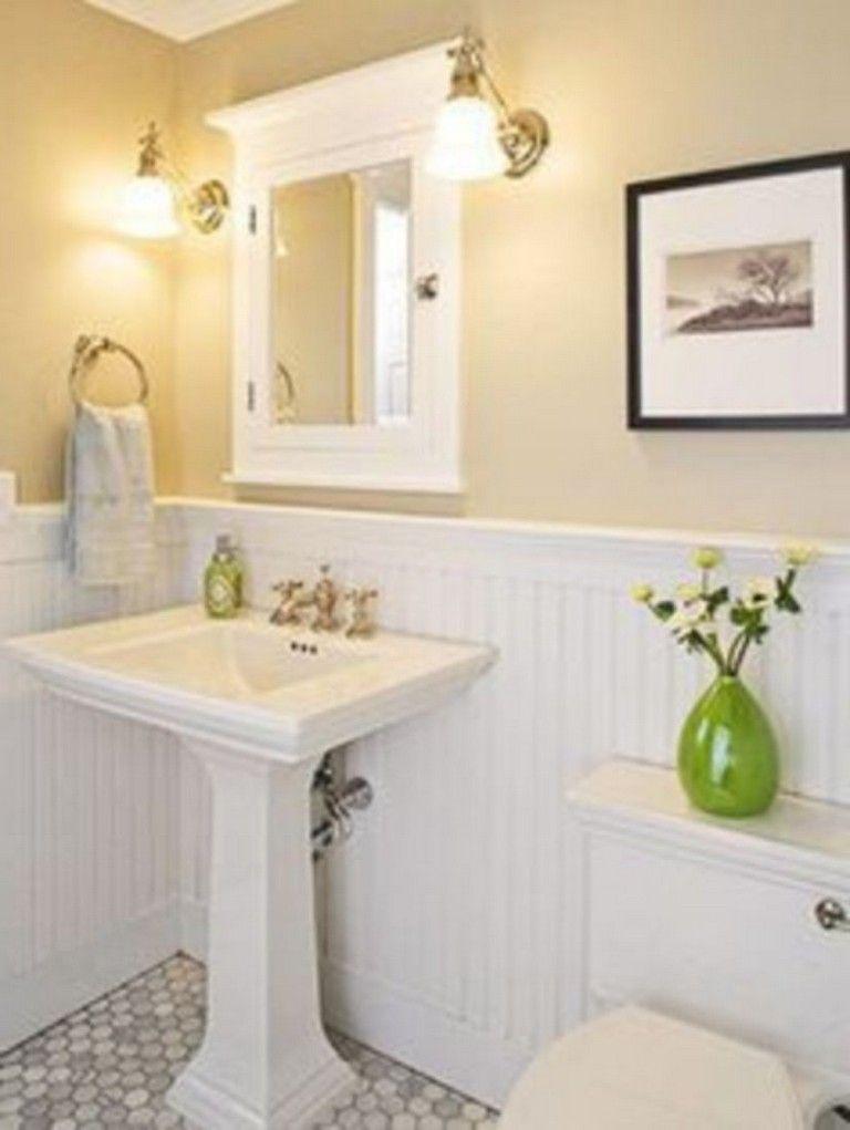 45 Picturesque Small Bathroom Decor Ideas | Simple ...