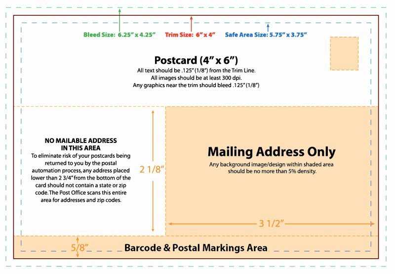 4x6 Postcard Template Photoshop Inspirational 28 Of Usps 4x6 Postcard Template Postcard Template Postcard Template Free 4x6 Postcard