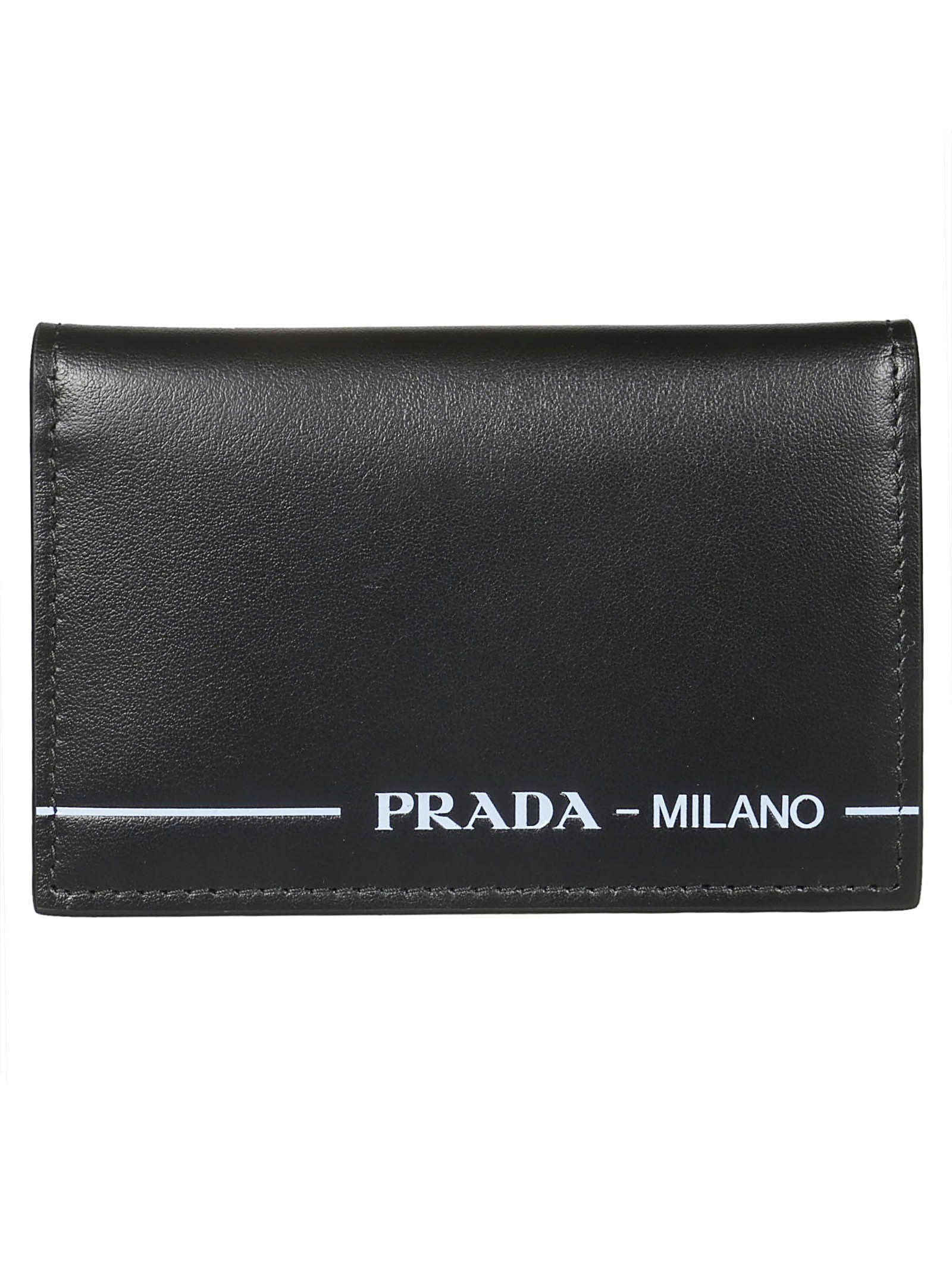 a56e2e51eb7a PRADA VERTICAL CARD HOLDER. #prada | Prada in 2019 | Prada, Prada ...