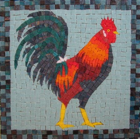 Rooster ungrouted mosaicos cajas decoradas y mariposas mosaic rooster recent photos the commons getty collection galleries world map app gumiabroncs Images