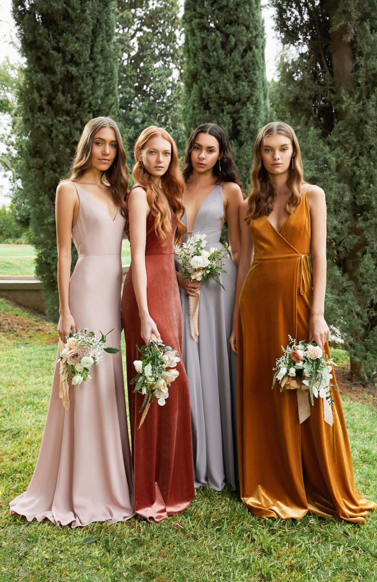Jenny Yoo Collection Bridesmaid Dresses Spring 2020 Dress For The Wedding Spring Bridesmaid Dresses Mix Match Bridesmaids Dresses Bridesmaid [ 1851 x 1200 Pixel ]