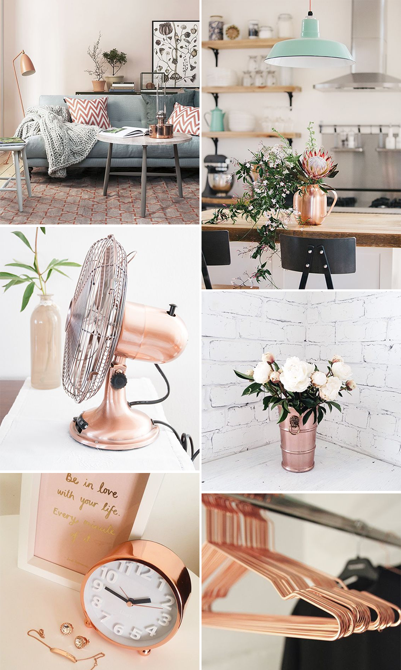 Rose gold na decora o rose gold pinterest for Zimmer dekoration rosegold