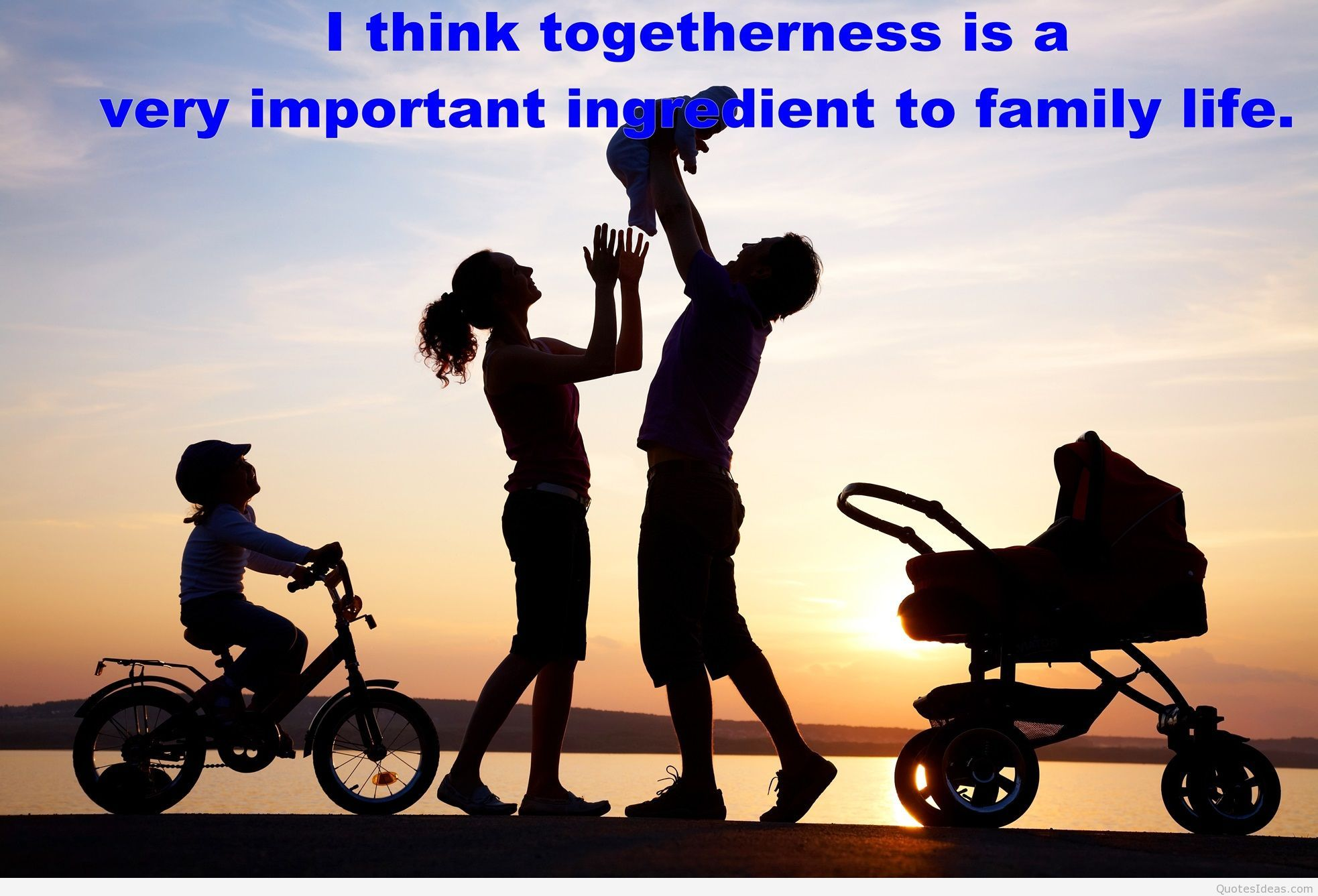 Togetherness Is The Important Ingredient Of Family Life Family