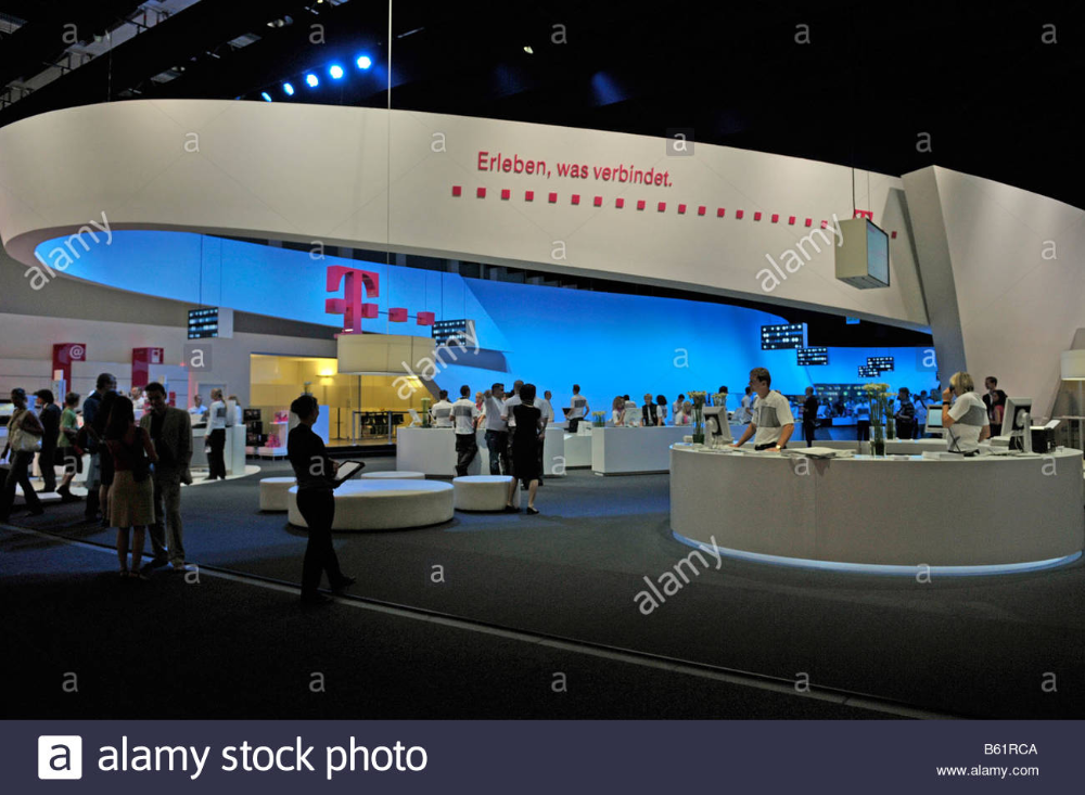 Telekom stand, Exposición Internacional de Radio IFA