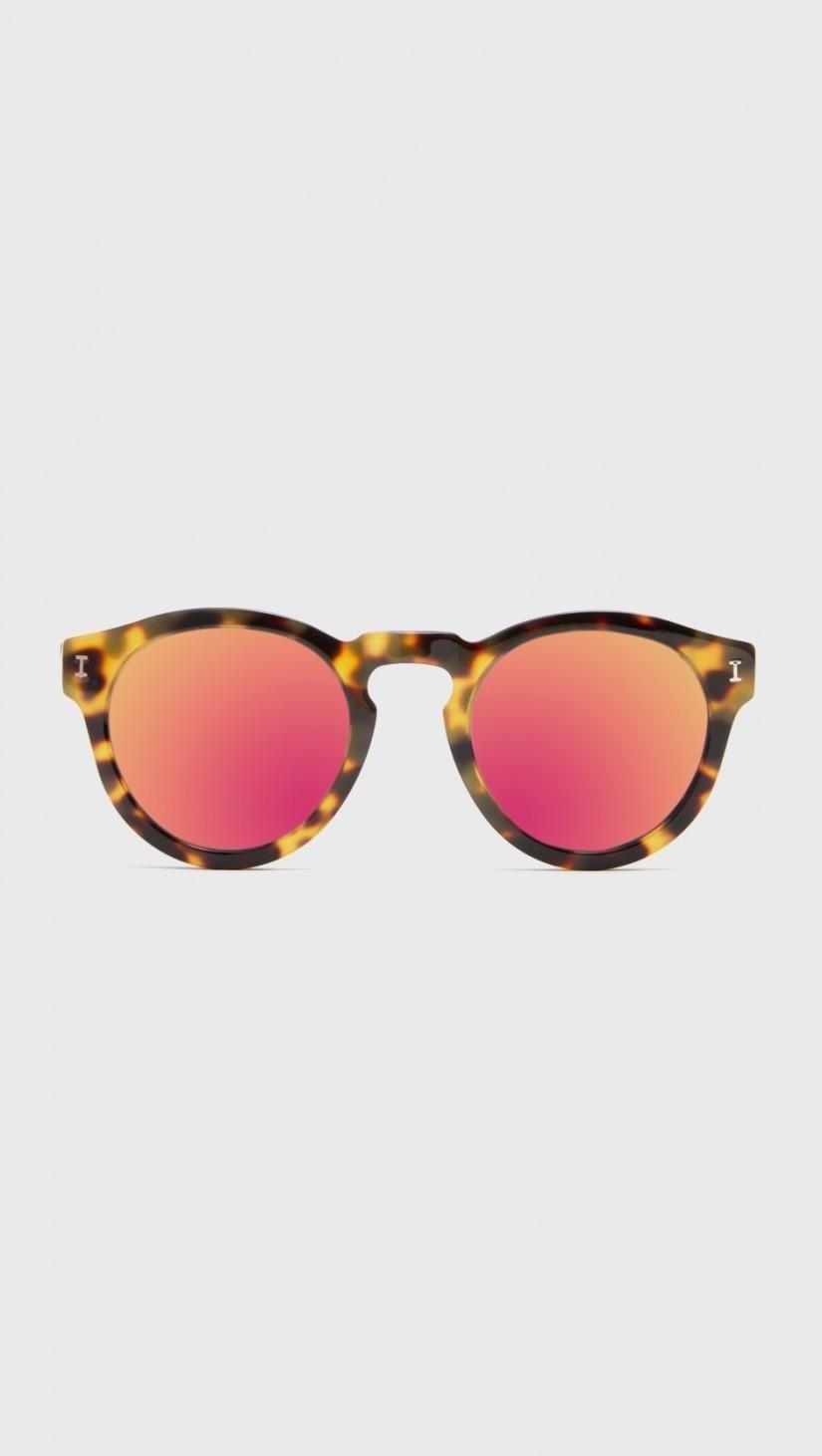 e733f0639c1 Illesteva Leonard Tortoise Pink Mirrored Sunglasses