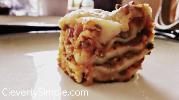 Easy Homemade Lasagna with No Boil Noodles