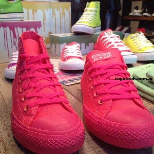 zapatillas converse mujer 2014 con plataforma