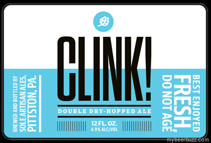 mybeerbuzz.com - Bringing Good Beers & Good People Together...: Søle Artisan Ales - Clink! Double Dry-Hopped Ale