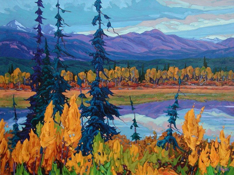 Headwaters of the Yukon River Domink J. Modlinski