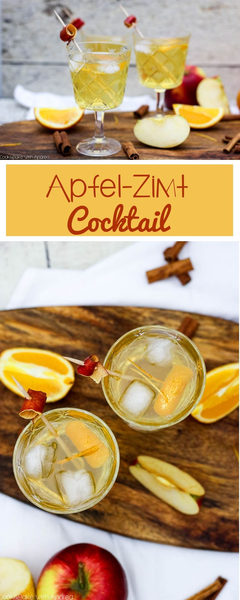 Winterlicher Apfel-Zimt-Cocktail mit Sinalco | C&B with ...