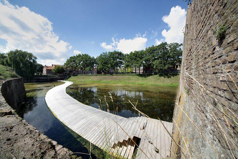 The Ravelijn Bridge, Bergen op Zoom, 2014 - RO