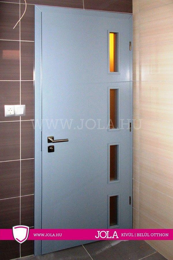 Angyalföld üveges festett beltéri ajtó