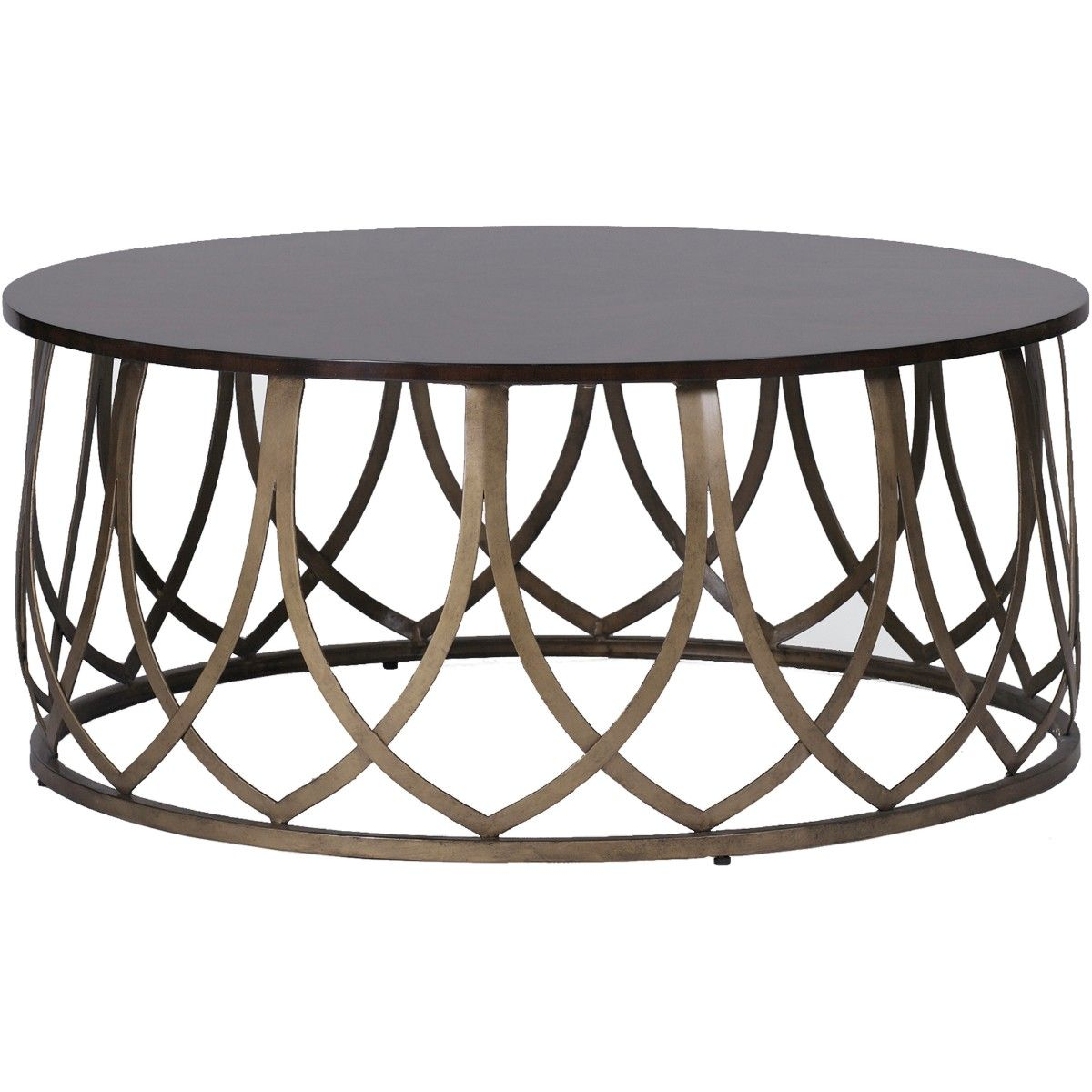 Gabby Jenkins Coffee Table Round Metal Coffee Table Cool Coffee Tables Coffee Table Design [ 1200 x 1200 Pixel ]